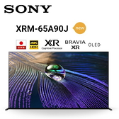 《名展影音》SONY XRM-65A90J 65吋日製4K XR OLED 液晶電視 另售 XRM-75Z9J