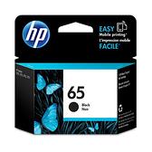HP 原廠黑色墨水匣 N9K02AA 65號 適用 DJ 3720/3721
