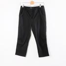 【MASTINA】抓皺造型七分褲-黑  ...