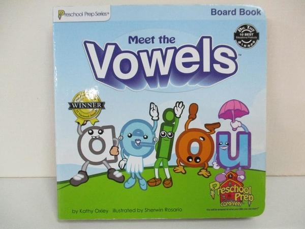 【書寶二手書T1/少年童書_B4I】Meet the Vowels_Kathy Oxley