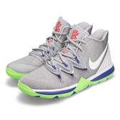 Nike Kyrie 5 GS Wolf Grey Lime 灰 綠 巴斯光年 籃球鞋 Irving 5代 女鞋 大童鞋 運動鞋【PUMP306】 AQ2456-099