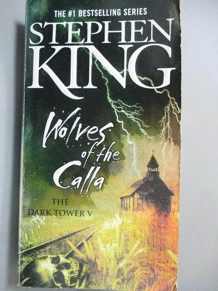 【書寶二手書T7/原文小說_A4I】Wolves of the Calla (Dark Tower)_King, Ste