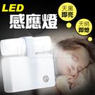 小夜燈 感應燈 LED燈 自動感應 省電燈 節能燈 光控感應 壁燈 走廊燈 床頭燈 玄關燈 燈泡