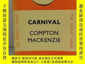 二手書博民逛書店康普頓·麥肯齊罕見Carnival by Compton Mackenzie (Penguin Books Com