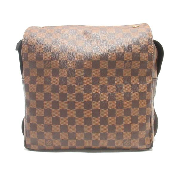 LOUIS VUITTON LV 路易威登 棋盤格斜背郵差包 Naviglio N45255【二手名牌BRAND OFF】