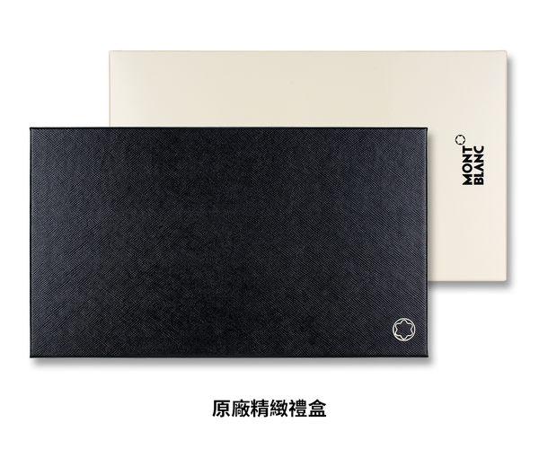 MONTBLANC 萬寶龍大班系列12卡拉鏈中夾-黑 118304