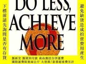 二手書博民逛書店Do罕見Less, Achieve MoreY256260 Chin-ning Chu Harper Pape
