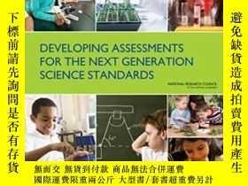 二手書博民逛書店Developing罕見Assessments For The Next Generation Science S