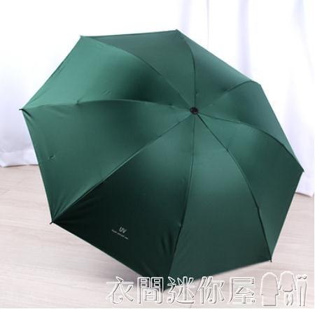 雨傘全自動女男折疊遮陽防曬防紫外線晴雨傘兩用太陽傘廣告定制印logo 衣間迷你屋