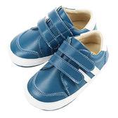 Swan天鵝童鞋-百搭皮質休閒學步鞋 1484-藍