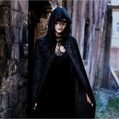 萬圣節服裝成人女披風表演演出服男巫師袍吸血鬼衣服死神女巫斗篷