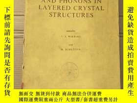二手書博民逛書店electrons罕見and phonons in layered crystal structures(P240