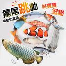 ⭐星星小舖⭐台灣出貨 可充電仿真跳動魚 電動魚 仿真魚 仿真跳動魚 抖音同款 電動擺動