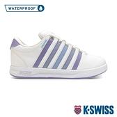 【超取】K-SWISS Court Pro S WP 防水時尚運動鞋-女-白/紫