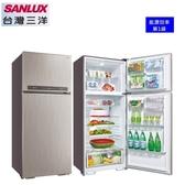 【SANLUX台灣三洋】480L 直流變頻電冰箱 1級節能《SR-C480BV1B》(光耀銀)*含運配送服務