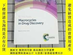 二手書博民逛書店Macrocycles罕見in Drug Discovery 進口原版 Y268220 Jeremy Levi