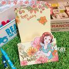 正版授權 迪士尼三折卡片 公主系列 白雪...