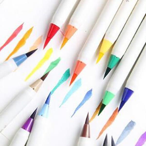 【BlueCat】白金牌15色彩色毛筆