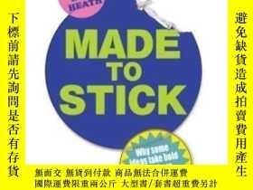 二手書博民逛書店Made罕見To StickY307751 Chip Heath Arrow Books, 2008 ISBN