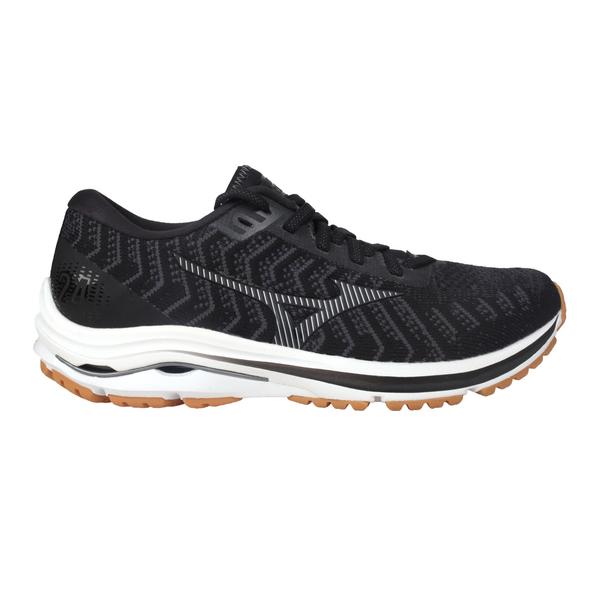 MIZUNO WAVE RIDER 24 WAVEKNIT女慢跑鞋-3E(免運 寬楦≡體院≡ J1GD2077