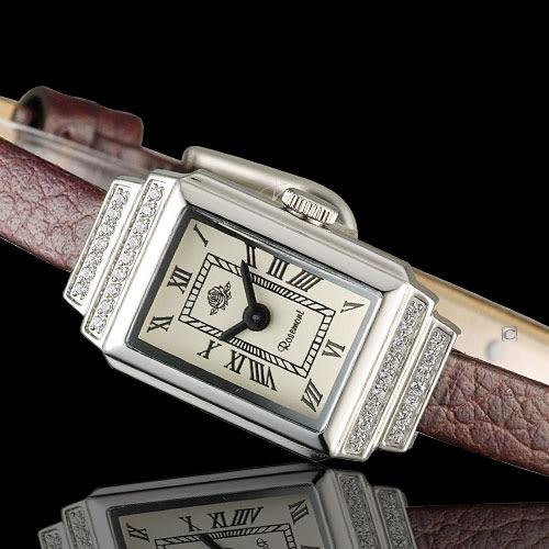 玫瑰錶 Rosemont 骨董風玫瑰系列時尚腕錶 TRS36-03-RM-BR
