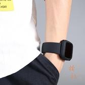 適用apple watch運動iwatch錶帶2/3/4代硅膠蘋果手表保護套【橘社小鎮】