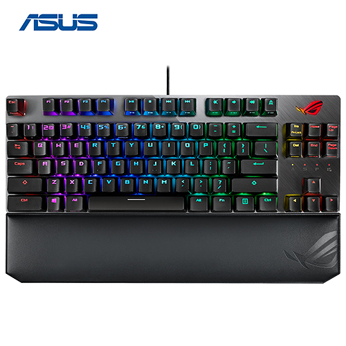 【送 ROG Sheath 限時特價至0731】 ASUS 華碩 ROG Strix Scope TKL Deluxe RGB Cherry MX 軸 機械式電競鍵盤