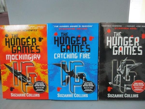 【書寶二手書T1/原文小說_MFK】The Hunger Games Trilogy Box Set_3本合售_SUZANNE COLLINS