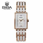 法國 BIBA 碧寶錶 純粹晶瓷系列 藍寶石玻璃 石英錶 B31WC203W 白色 - 22 X 32.0mm