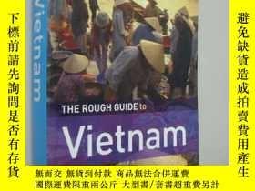 二手書博民逛書店The罕見Rough Guide to Vietnam 越南旅遊