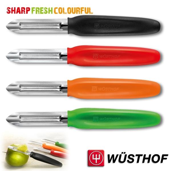 《WUSTHOF》德國三叉牌S.F.C 雙刃蔬果削皮器(固定式刀刃)