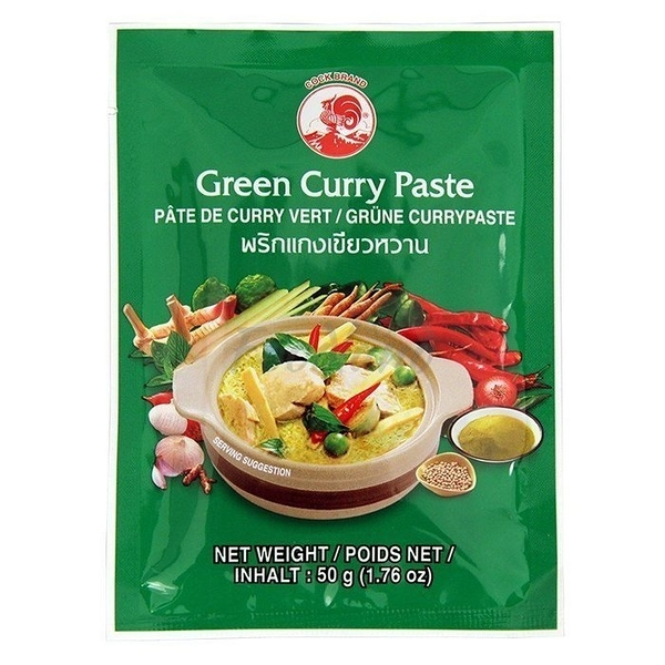 【美佐子MISAKO】南洋食材系列-COCK 綠咖哩 50g