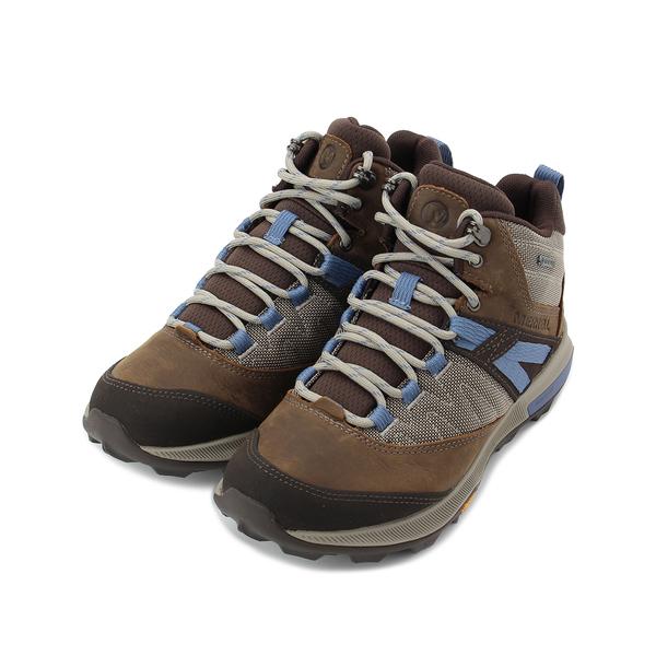 MERRELL ZION GORE-TEX 防水郊山健行鞋 棕/淺紫 ML18822 女鞋 登山│越野│多功能│戶外