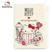 日本限定 三麗鷗 HELLO KITTY 凱蒂貓 糖果版 信用卡夾 / 護照夾 / 證件收納夾