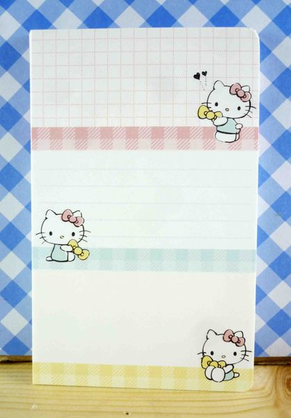 【震撼精品百貨】Hello Kitty 凱蒂貓~kitty便條紙-三折拿蝴蝶結