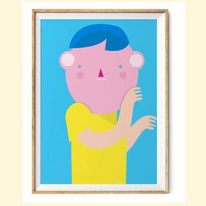 【摩達客】西班牙知名插畫家Judy Kaufmann藝術創作海報版畫掛畫裝飾畫-秘密02