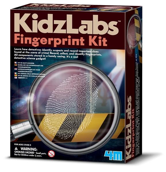 《4M科學探索》Finger Print Kit 指紋密碼戰╭★ JOYBUS玩具百貨