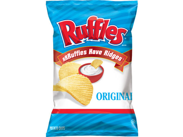美國進口 Ruffles 厚切波樂洋芋片-經典原味184.2g [效期5/30]