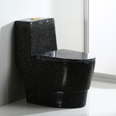 熱銷馬桶摩興個性創意彩色馬桶座便器 家用大口徑防臭節水抽水馬桶坐廁 智慧e家LX