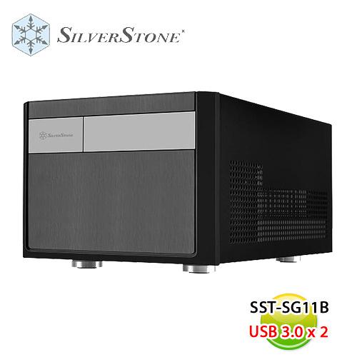 SilverStone 銀欣 SST-SG11 B (黑) 機殼