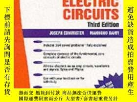 二手書博民逛書店Schaum s罕見Outline Of Electric Ci