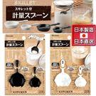【九元生活百貨】日本製 煎鍋型計量匙 平...