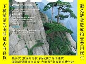 二手書博民逛書店Geol罕見(with Earth Science Coursemate With Ebook Printed A
