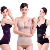 塑身衣女 束腹褲超薄托胸收腹收腰無痕女塑身背心產後保養 美體衣《小師妹》yf1238