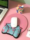 創意蝴蝶結滑鼠墊護腕3d記憶棉手托可愛卡通女生ins風辦公舒適腕墊柔軟膠墊 樂活生活館