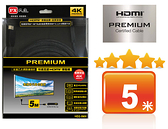 【中將3C】PX大通 PREMIUM特級高速HDMI傳輸線(5米)   .HD2-5MX