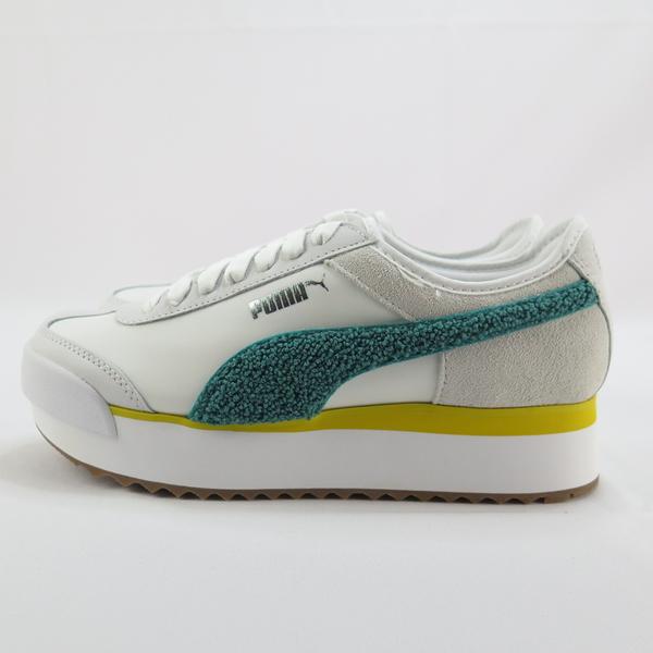 PUMA ROMA AMOR HERITAGE WNS休閒鞋 37094704 女款 黃綠【iSport愛運動】
