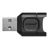新風尚潮流 【MLPM】 金士頓 micro-SD 系列 讀卡機 支援 小卡 UHS-II 達到 USB 3.2 G1
