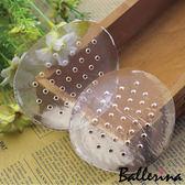 Ballerina-矽膠透明有孔透氣半墊(1對入)