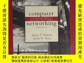二手書博民逛書店英文原版罕見Computer Networking by Jam
